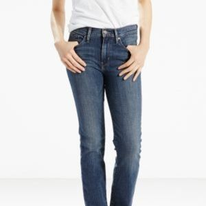 JUST IN! NWT LEVI'S Slimming Straight Jeans 30